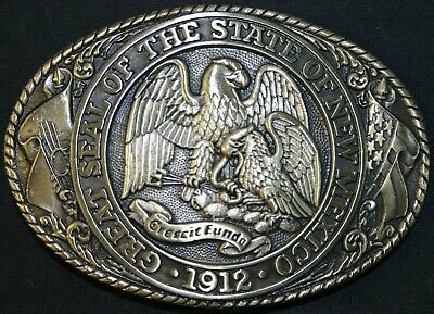New Vintage Tony Lama State Series Collection Belt Buckle New Mexico