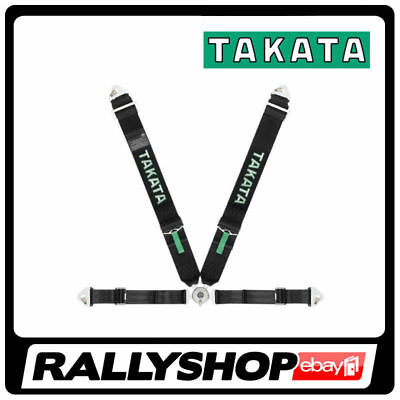 FIA Takata RACE 4 point HARNESS BLACK, CHEAP DELIVERY SNAP Rollcage