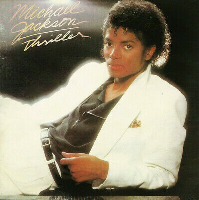 Michael Jackson Thriller (VG+) CD, Album, RE