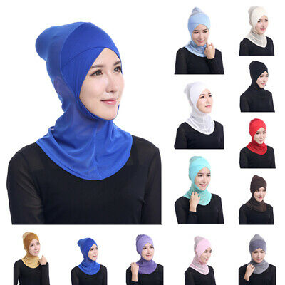 Inner-cap Head Cover Bonnet scarf Modal Islamic Cap Stretchy Brand New