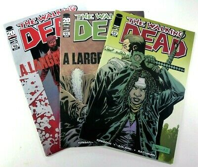 Image THE WALKING DEAD #92 Key 1st JESUS! + 95 96 LOT VF/NM Ships FREE!