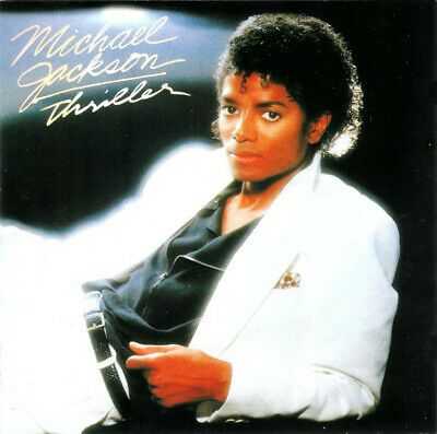 Michael Jackson Thriller (VG+) CD, Album, RE, RM, S/Edition