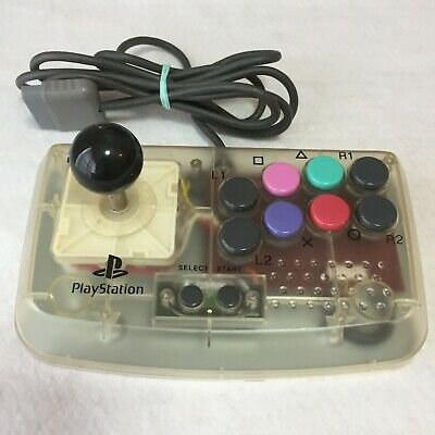 HORI COMPACT JOYSTICK Controller PS Pad Clear Playstation JAPAN game TRACKING