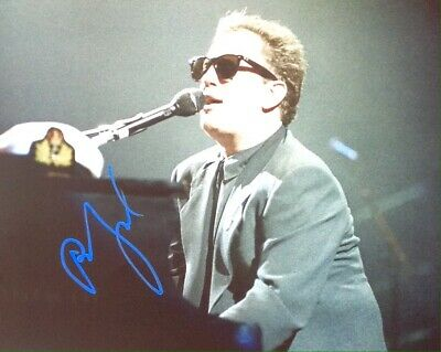 Billy Joel Authentic Signed 10X8 Photo Aftal#198