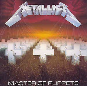 Metallica Master Of Puppets (VG+) CD, Album, RE