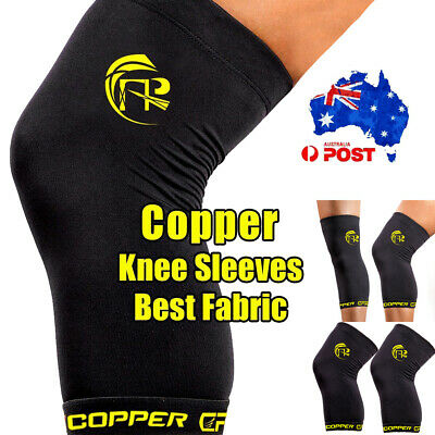 Copper Knee Braces Copper Infused Compression Sleeves Arthritis Running Sports