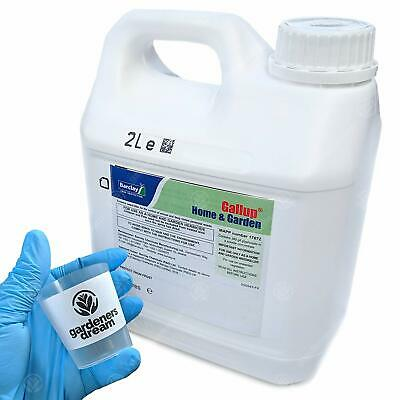 Barclay Gallup Home & Garden Glyphosate Commercial Strength Weed killer 2L