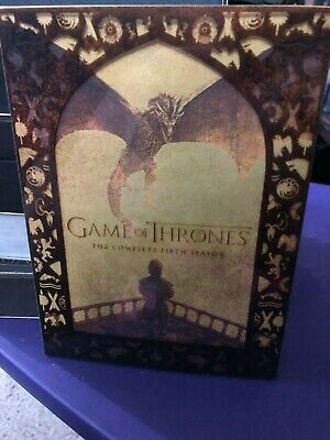 Pre-Owned Game of Thrones: The Complete Fifth Season (DVD, 2016, 5-Disc Set)