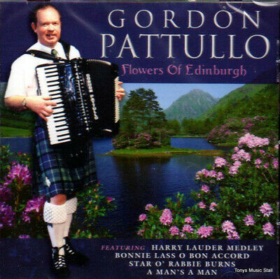 Gordon Pattullo Flowers Of Edinburgh (VG) CD, Album