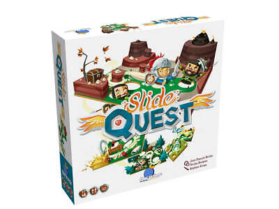 Slide Quest - Family Strategy Board Game