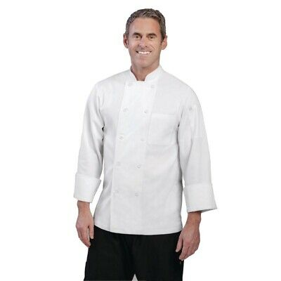 Chef Works Unisex Le Mans Chefs Jacket White 2XL [A371-XXL]