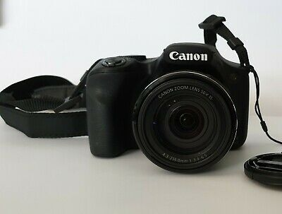 Canon Powershot SX540 HS digital camera  boxed with extra battery and HDMI cable