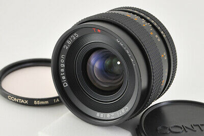 *Excellent* Contax Carl Zeiss Distagon 35mm f/2.8 AEJ Lens from Japan #3054