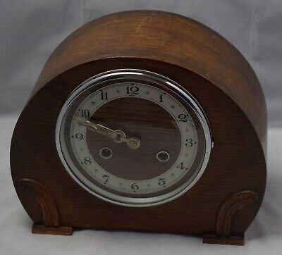 Antique Clock ANIL Made in England / Vintage Chiming Mantle Clock.