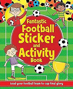 Championship Football Sticker and Activity Book