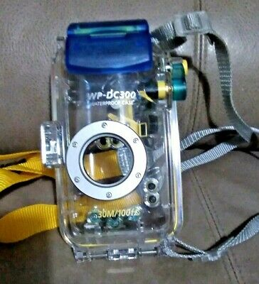 Canon Digital Camera  Waterproof Case Wp-Dc300 Boxed With Instruction Booklet