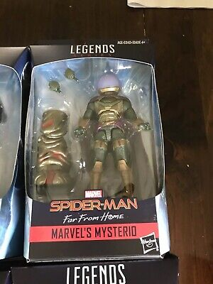 Marvel Legends Mysterio Spider-Man Far From Home Molten Man BAF - In Stock