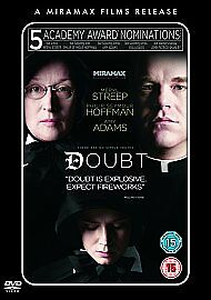Doubt (DVD, 2009) new and sealed freepost