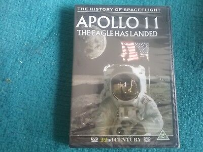 apollo 11 the eagle has landed dvd new freepost