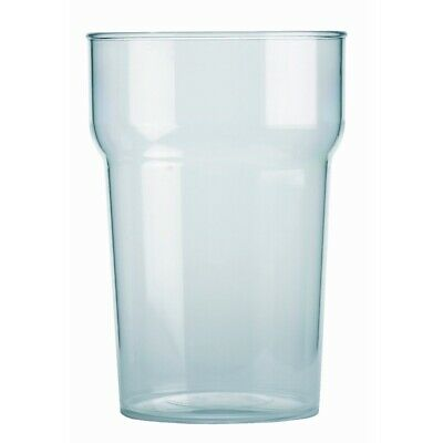 BBP Polycarbonate Nonic Pint Glasses 570ml CE Marked (Set of 48) [CC564]