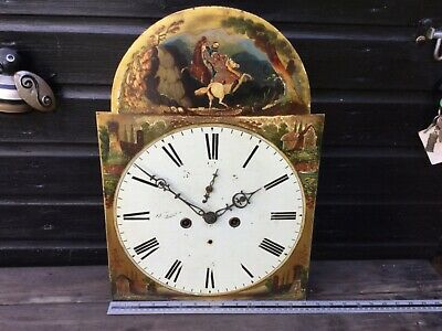 Antique grandfather clock   Eight day works