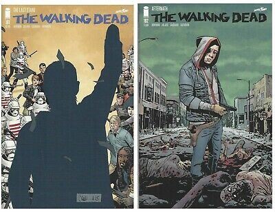 The Walking Dead #191 #192 KEY ISSUES Rick Grimes Image Comics 2019 First Prints