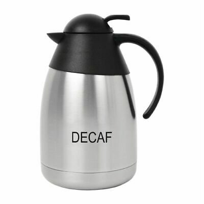 Olympia Vacuum Jug and Lid 1.5Ltr Decaf [CR454]