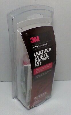 3M Leather & Vinyl Repair Kit Upholstery Furniture Car Chair Restoration Patch