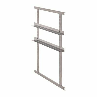 Cambro Kit of 2 Stainless Steel Rails for Cam GoBoxes [CW809]