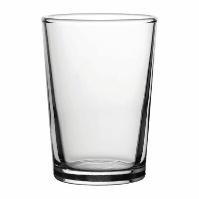 Utopia Toughened Conical Beer Glasses 200ml CE Marked at 1/3 Pint (Set of 72) [C