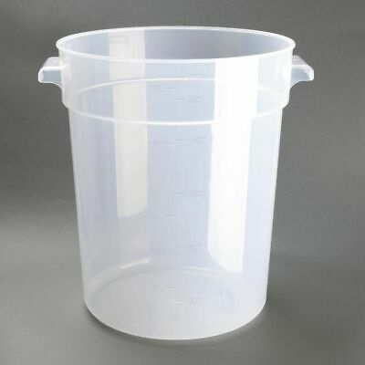 Vogue Polypropylene Round Food Storage Container 20Ltr [DJ962]