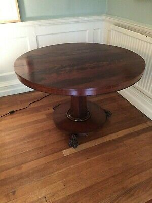 Antique Victorian Round Breakfast Dining Centre Table