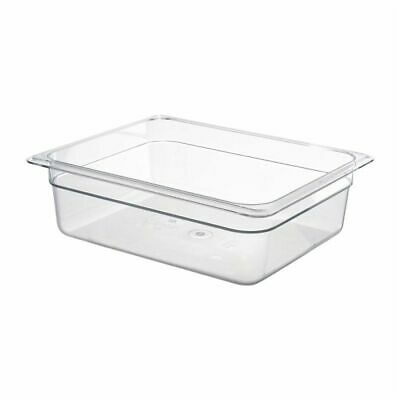 Cambro Polycarbonate 1/2 Gastronorm Pan 100mm [DM744]