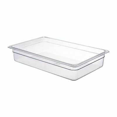 Cambro Polycarbonate 1/1 Gastronorm Pan 100mm [DM729]