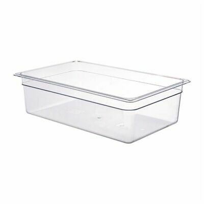 Cambro Polycarbonate 1/1 Gastronorm Pan 150mm [DM738]