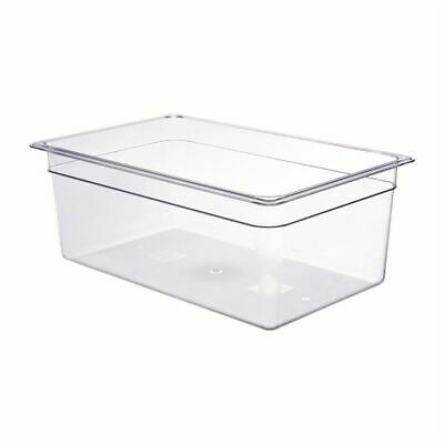 Cambro Polycarbonate 1/1 Gastronorm Pan 200mm [DM739]