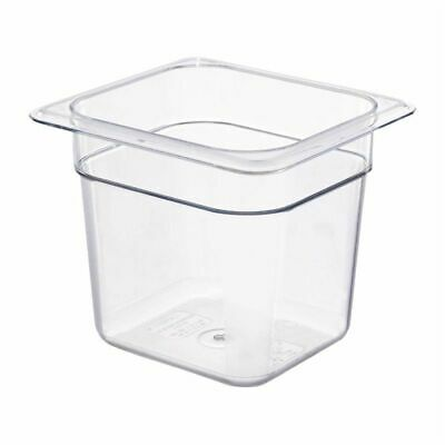 Cambro Polycarbonate 1/6 Gastronorm Pan 150mm [DM753]