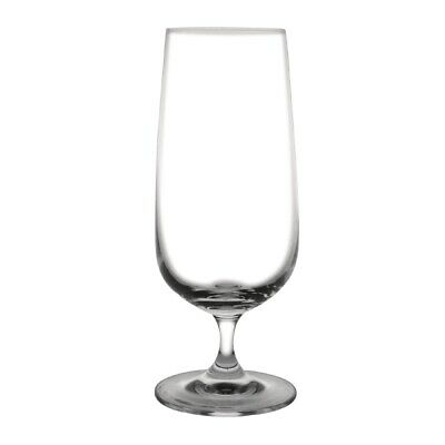 Olympia Bar Collection Crystal Stemmed Beer Glasses 410ml (Set of 6) [GF742]