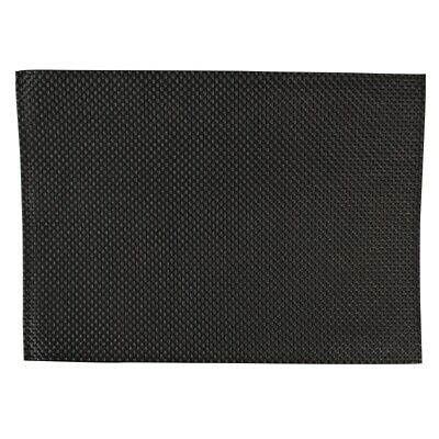 APS PVC Placemat Black (Set of 6) [GJ992]