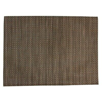 APS PVC placemat Beige And Brown (Set of 6) [GJ996]