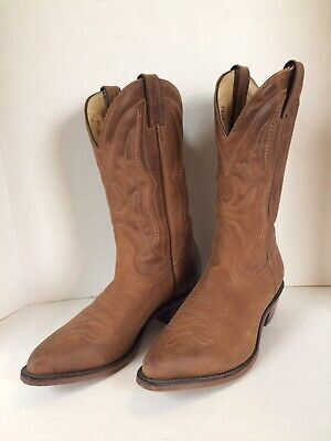 68ebf76e8ad BOULET MENS BROWN Leather Western Cowboy Boots 11.5 E - $49.98 ...