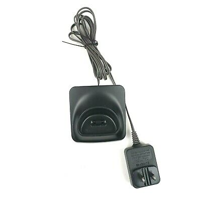 Panasonic PNLC1050 YA Replacement Handset Charger Base PNLV233 AC Adapter Black