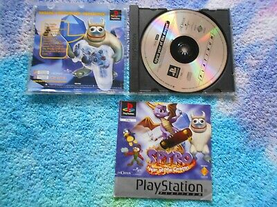 Spyro Year Of The Dragon Playstation Ps1 PAL COMPLETE FREE POST