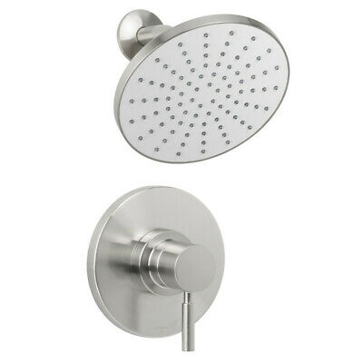 Miseno MS-550425E-S Nickel Mia Shower Trim Package with Single Function Rain
