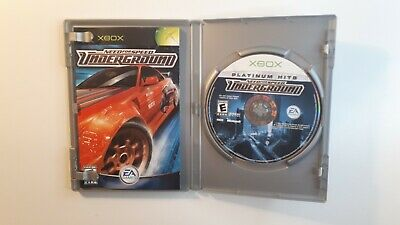 Need for Speed: Underground (Microsoft Xbox, 2003) COMPLETE - CIB -FAST SHIPPING
