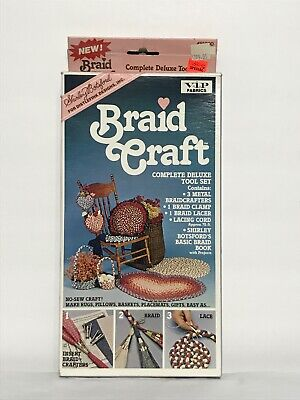 Brand New Shirley Botsford Braid Craft VIP Fabrics