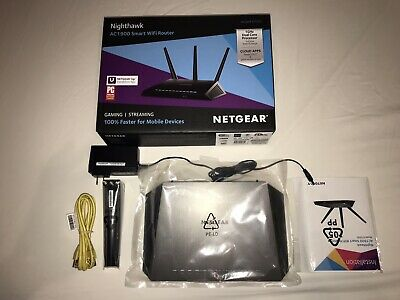 NIGHTHAWK NETGEAR ROUTER R7000 (AC1900) Smart WiFi Router