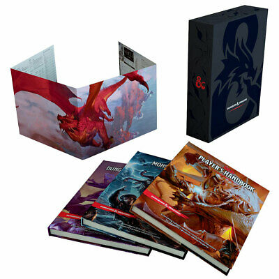 Dungeons & Dragons Core Rulebook Gift Set - Loot - BRAND NEW