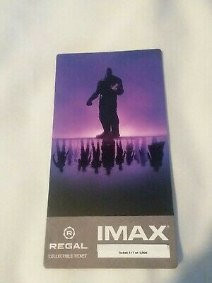 New Marvel AVENGERS ENDGAME  Week 1 Collectible Regal IMAX Ticket #111 of 1000