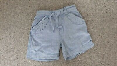 Gorgeous Blue Baby Short Boy/girls Mothercare Age 6-9months